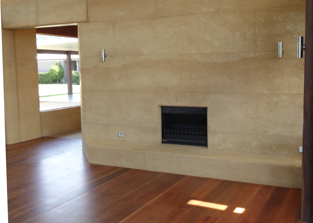 Samford Valley Residence, Queensland | Rammed Earth Constructions