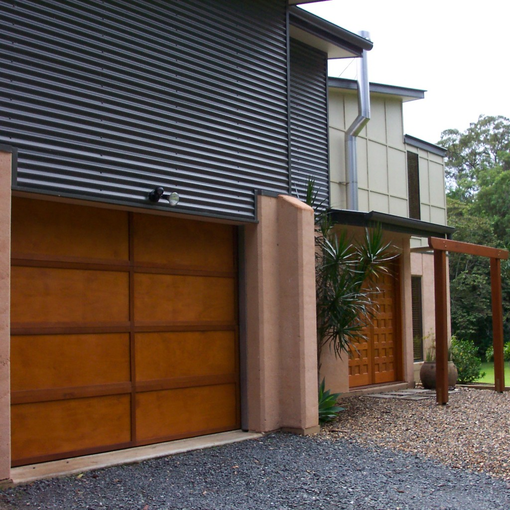 Multi award winning rammed earth, colorbond and fc sheeting home, near Noosa.